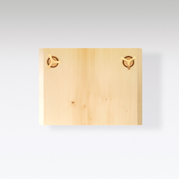 Wood Wall Light Pierre Charlotte